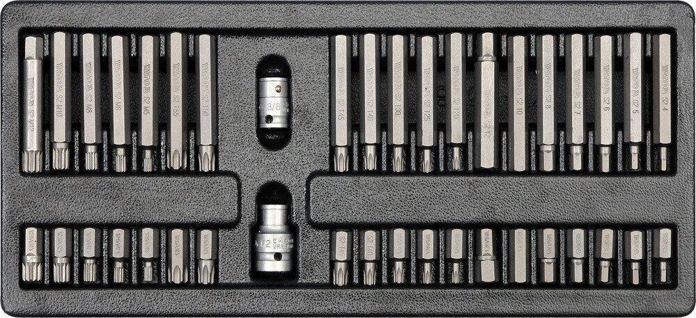 Набір з набором біт YATO YT-5538