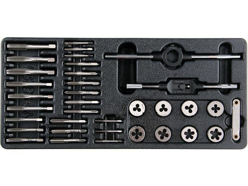 Набор метчиков и плашек для тележек Yato YT-55465