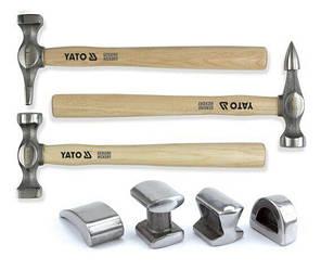 Набор рихтовочных молотков 7 ед. YATO YT-4590