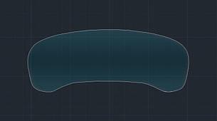 Захисне гібридне скло на приладову панель MATT BMW 7 M7 2019 (G11)