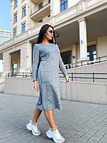Платье миди ангора 04р1551, фото 3