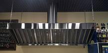 Зонт витяжні з 201 нержавіючої сталі
