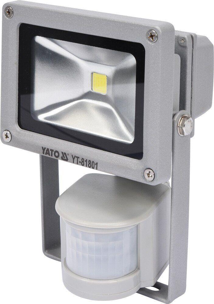Прожектор 10W з датчиком руху YATO YT-81801