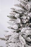 Ялинка штучна засніжена Вікторія 1,5 м, фото 2