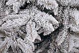 Ялинка штучна засніжена Вікторія 1,5 м, фото 3