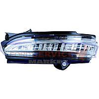 Повторитель поворота в зеркале левый аналог для Ford Mondeo 5 c 14-19