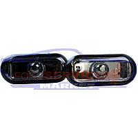 Повторитель поворота комплект дымчатые неоригинал для Ford Fiesta 6 c 02-08, Fusion c 02-12, Focus 2 c 04-11,