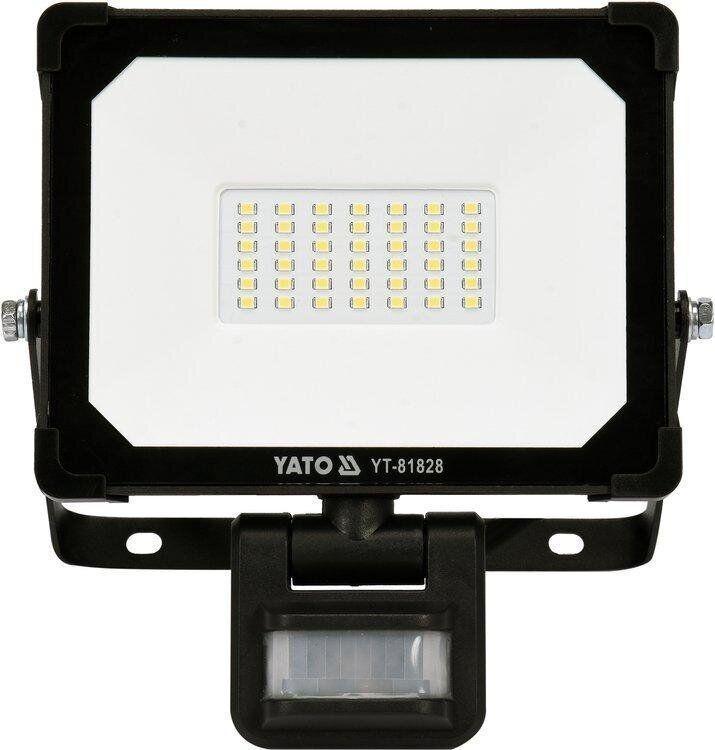 Светодиодный прожектор с датчиком движения SMD LED 30W YATO YT-81828