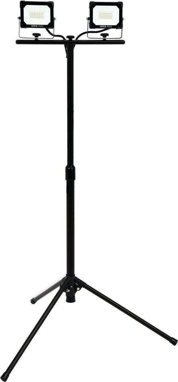 Светодиодный прожектор SMD LED с подставкой 2*20 Вт YATO YT-81815