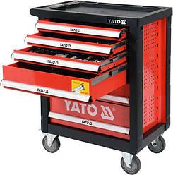 Сервісна візок на колесах з інструментами YATO YT-55307