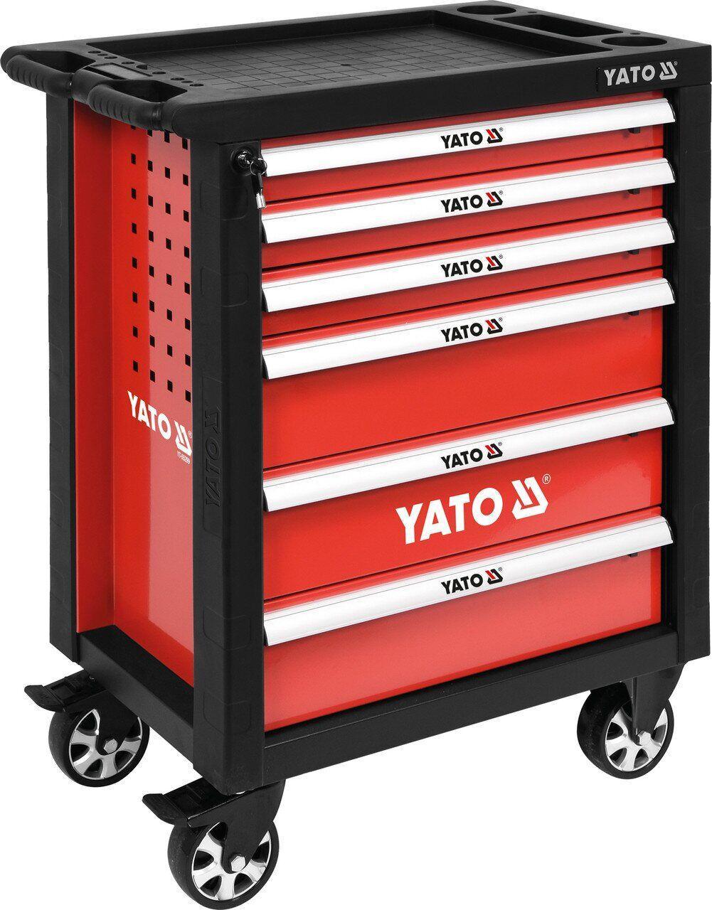 Сервісна візок на колесах з висувними ящиками YATO YT-55299