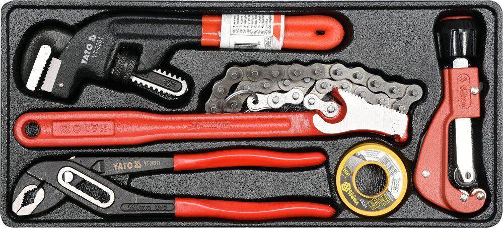 Вставка для инструментального ящика с разводными трубными ключами YATO YT-55481