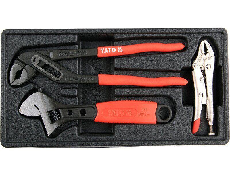 Вставка для інструментального ящика з кліщами, ключем та зварювальними плоскогубцями YATO YT-55473
