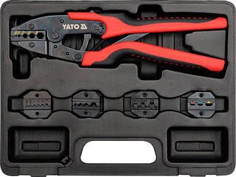 Набор для обжима кабельных наконечников YATO YT-2245