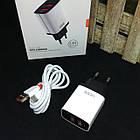 Зарядное устройство VIDVIE PLE216 + кабель TypeC, кабель USB, кабель для зарядки, шнур USB, зарядка, фото 2