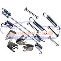 Пружини і напрямні комплект для заднього барабана неоригінал для Ford Fiesta 6 c 02-08, Fusion c 02-12