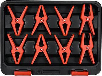 Зажимы для металлических проводов 8 шт YATO YT-08391