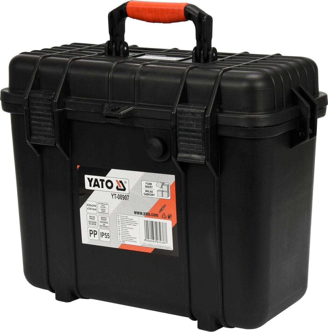 Ящик для инструментов 430х244х341мм YATO YT-08907