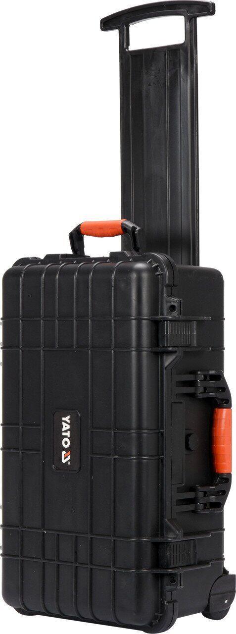 Скринька для інструментів на колесах 559х351х229мм YATO YT-08905