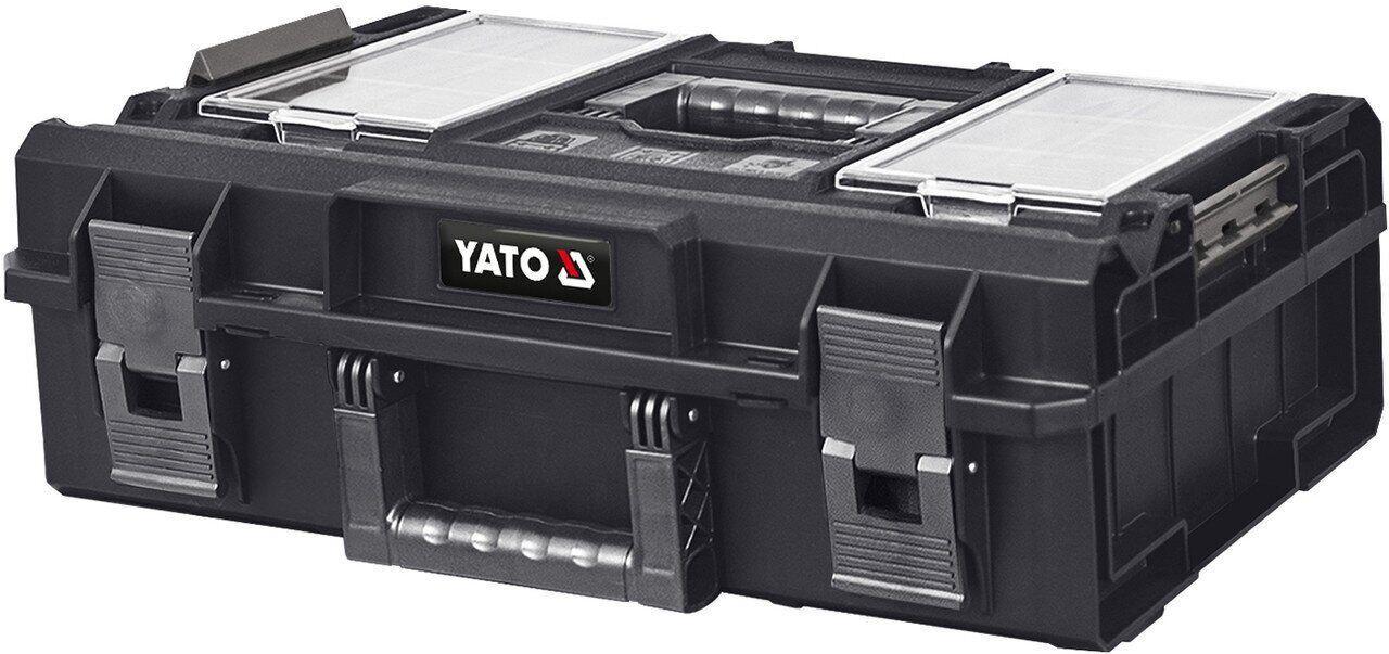 Ящик для инструментов с органайзерами 19P S1 YATO YT-09169