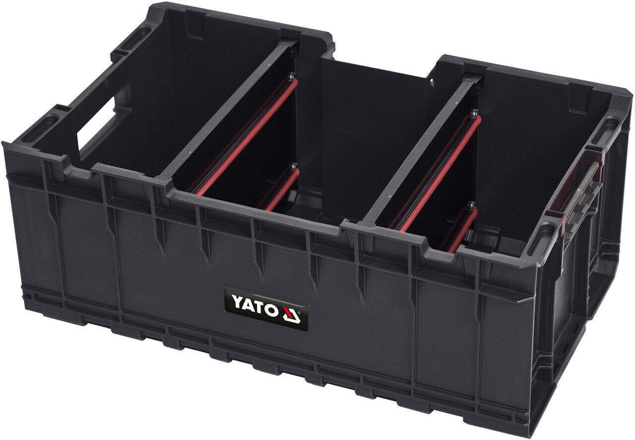 Ящик для инструментов с перегородками B24P S1 YATO YT-09168