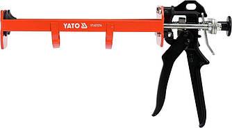 Пістолет для герметика з подвійним картриджем YATO YT-67574