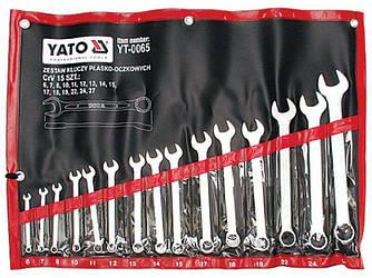 Набор ключей комбинированных YATO YT-0065