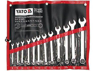 Набор ключей комбинированных YATO YT-0062