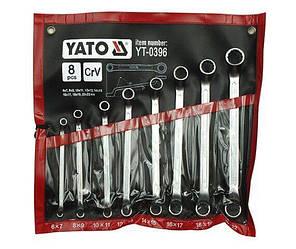 Набор ключей накидных YATO YT-0396