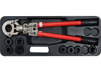 Гидравлический инструмент для обжима разъемов на металлопластиковых трубах YATO YT-21735