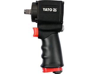 Короткий пневматический гайковерт YATO YT-09512