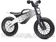 Беговел велобіг від дерев'яний Caretero (Toyz) Enduro 12 дюймів колеса Пром