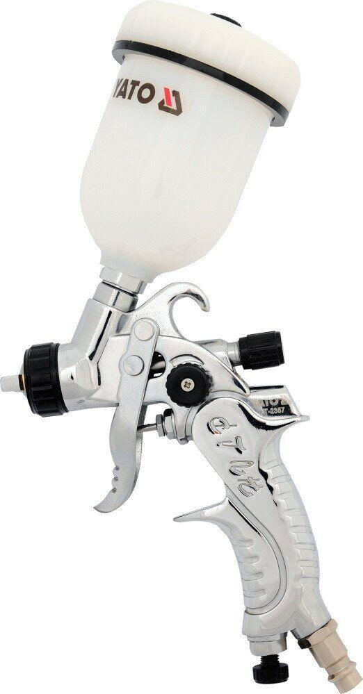Пневматичний фарборозпилювач HVLP 0,8 мм YATO YT-2357