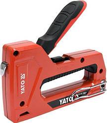 Степлер для скоб і цвяхів YATO YT-70021