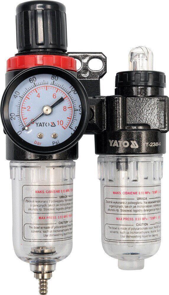 Воздушный фильтр с редуктором YATO YT-2384