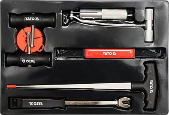 Набор для демонтажа лобовых стекол YATO YT-0845