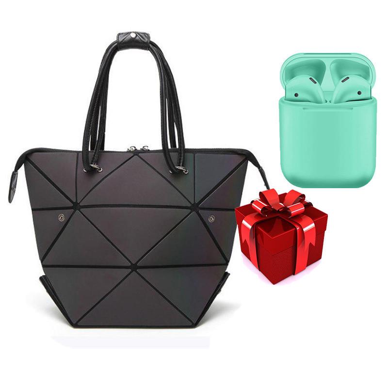 Жіноча сумочка Bao-Bao + Бездротові сенсорні навушники inPods 12 Зелені в ПОДАРУНОК!!!