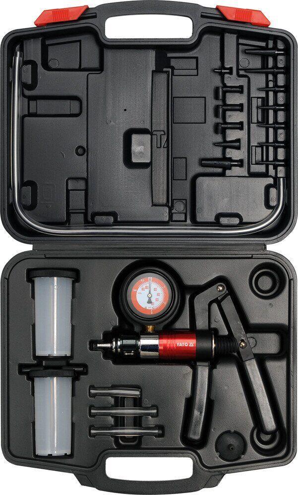 Диагностический вакуумный насос с 22 аксессуарами Yato YT-0674