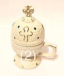 Д Керам. Кадильница виноград, церковь (роспись золото), фото 2
