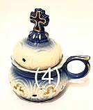 Д Керам. Кадильница виноград, церковь (роспись золото), фото 4