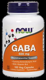 Now Foods GABA-500mg (100Vcaps)