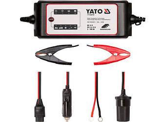 Зарядний пристрій для автомобільного акумулятора Yato YT-83016