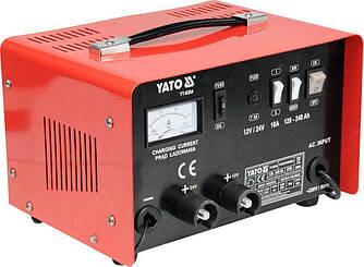 Автомобільний зарядний пристрій YATO YT-8304