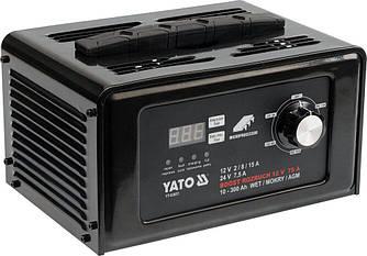 Пуско-зарядний пристрій YATO YT-83051