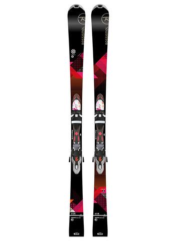 Горные лыжи женские Rossignol UNIQUE 6 W XELIUM + XELIUM SAPHIR 110 B83 BK PINK (MD)