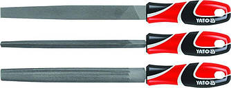 Набор напильников по металлу 3 шт YATO YT-6237