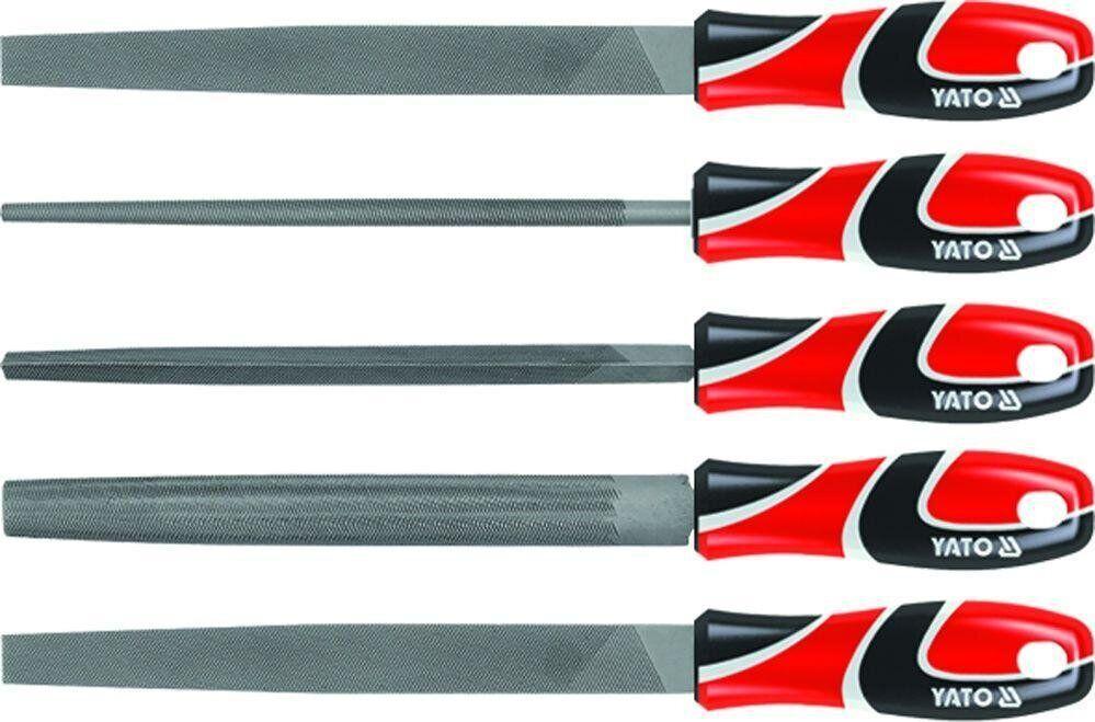 Набор напильників по металлу 5 шт YATO YT-6239