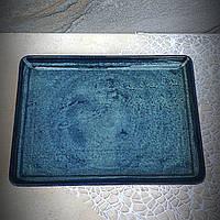 "Бірюзове велике прямокутне блюдо Kutahya Porselen ""Corendon"" 350х260 мм (NB3535), фото 1"
