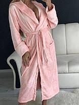 Женский мягусенький приятный на ощупь халат, фото 2