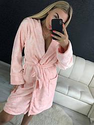 Жіночий мягусенький приємний на дотик халат